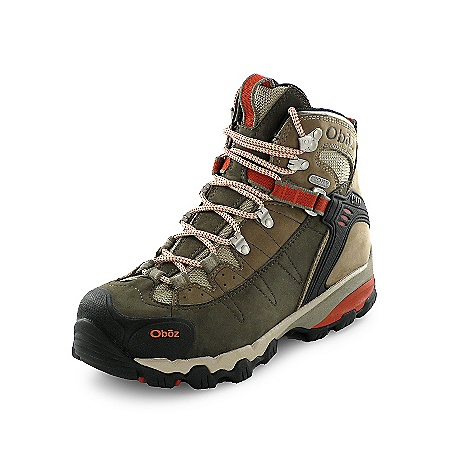Camp and Hike Free Shipping. Oboz Women's Wind River II Boot DECENT FEATURES of the Oboz Women's Wind River II Boot Waterproof Nubuck Leather and High Abrasion Resistant Textile Oboz BDry Waterproof/Breathable Membrane TPU Heel Counter Molded Rubber Toe Rand BFit Lacing System Gender Specific Collar Height BFit Deluxe Dual Density EVA Asymmetrical PU Heel Pod Nylon Shank The SPECS Weight: 1/2 pair: 20.9 oz - $185.00