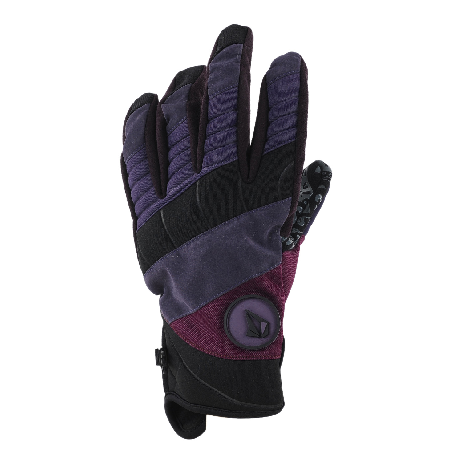 Snowboard Key Features of the Volcom Hypnotized Pipe Snowboard Gloves: V-Science Micro Fiber/Neoprene Shell Durable Grip Palm 100G Brushed Micro-Fiber Fixed Lining Ergonomically Curved Fingers Stretch/Elastic Neoprene Slip On Construction Silicon Printed Suede Nose Wipe Panel - $33.95