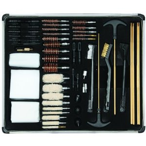 Hunting Allen Company Gun Cleaning Kit (in Aluminum Box, 60 Piece)   $36.85