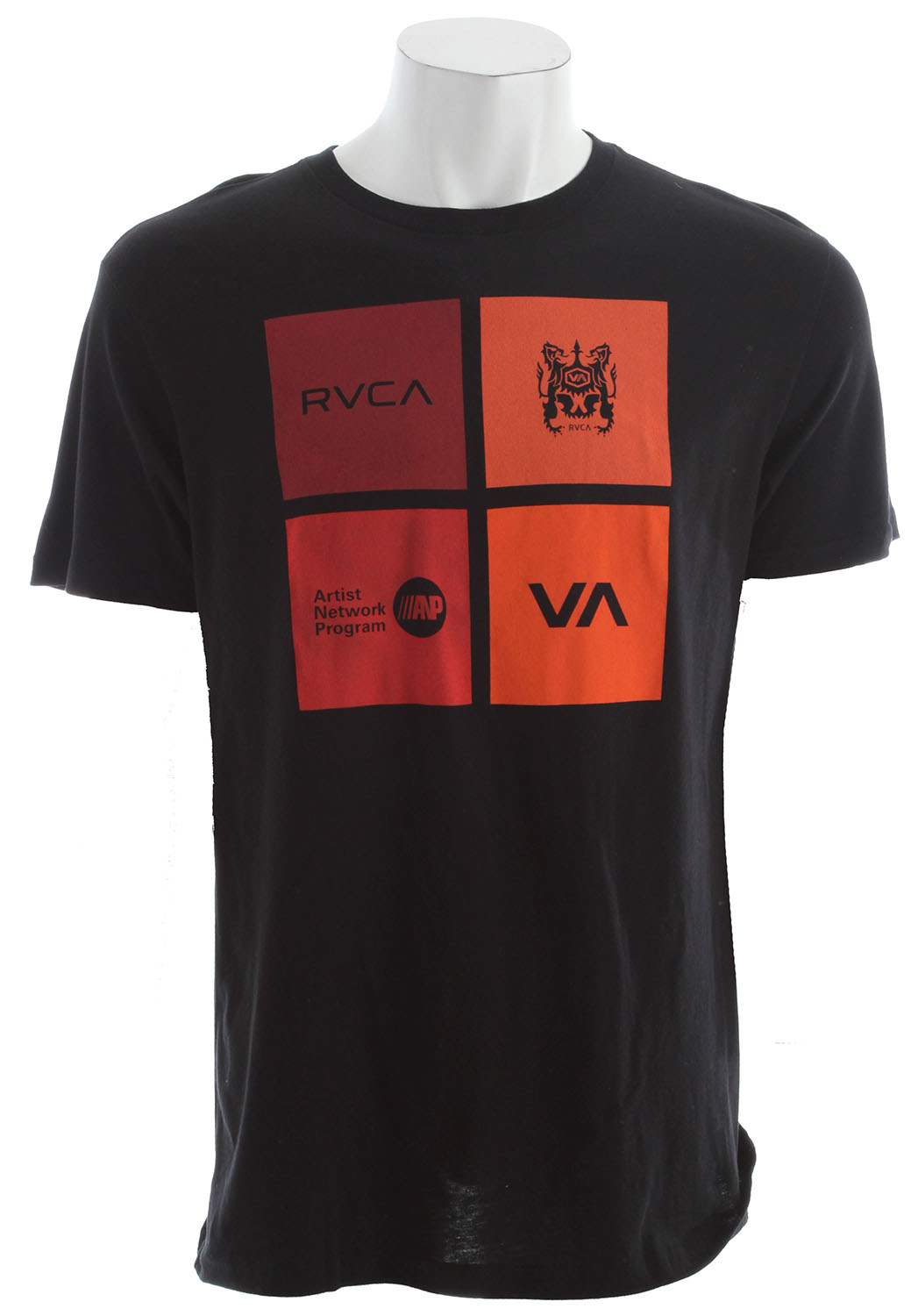 Key Features of the RVCA Multiply T-Shirt: 100% cotton vintage wash slim fit tee Front and back print and screened inside neck - $24.00