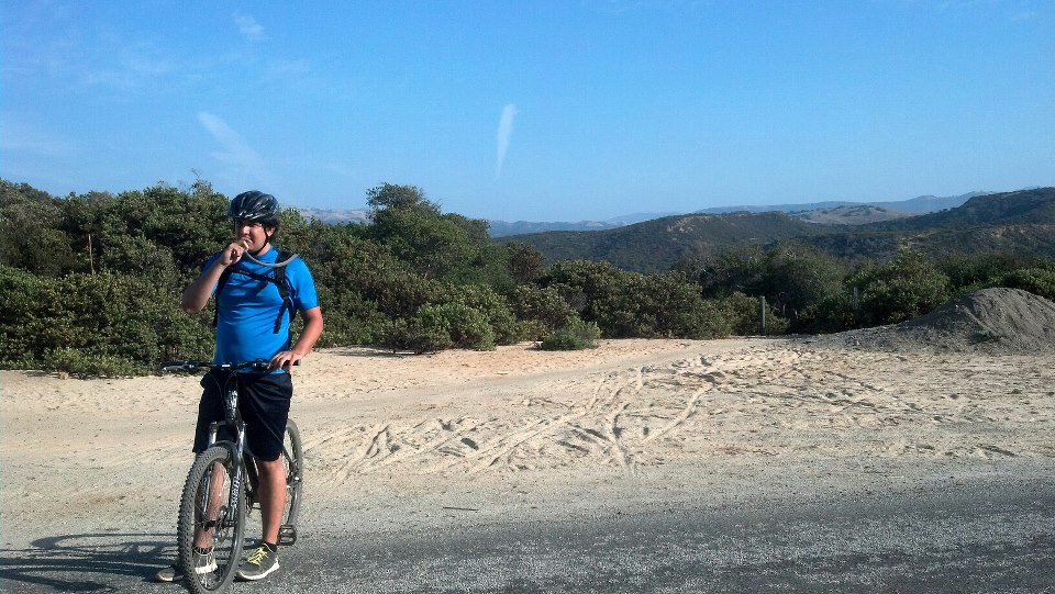 MTB Top of Trail #51, Fort Ord, Monterey, CA