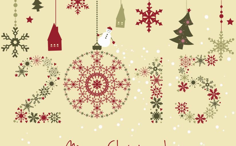 Дизайнерские открытки с новым годом