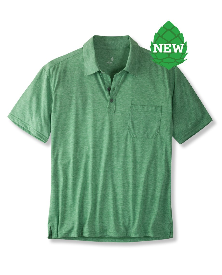 Golf The Divide Polo is as civilized on the golf course as it is functional on a Yosemite Big Wall. The drirelease - $22.00