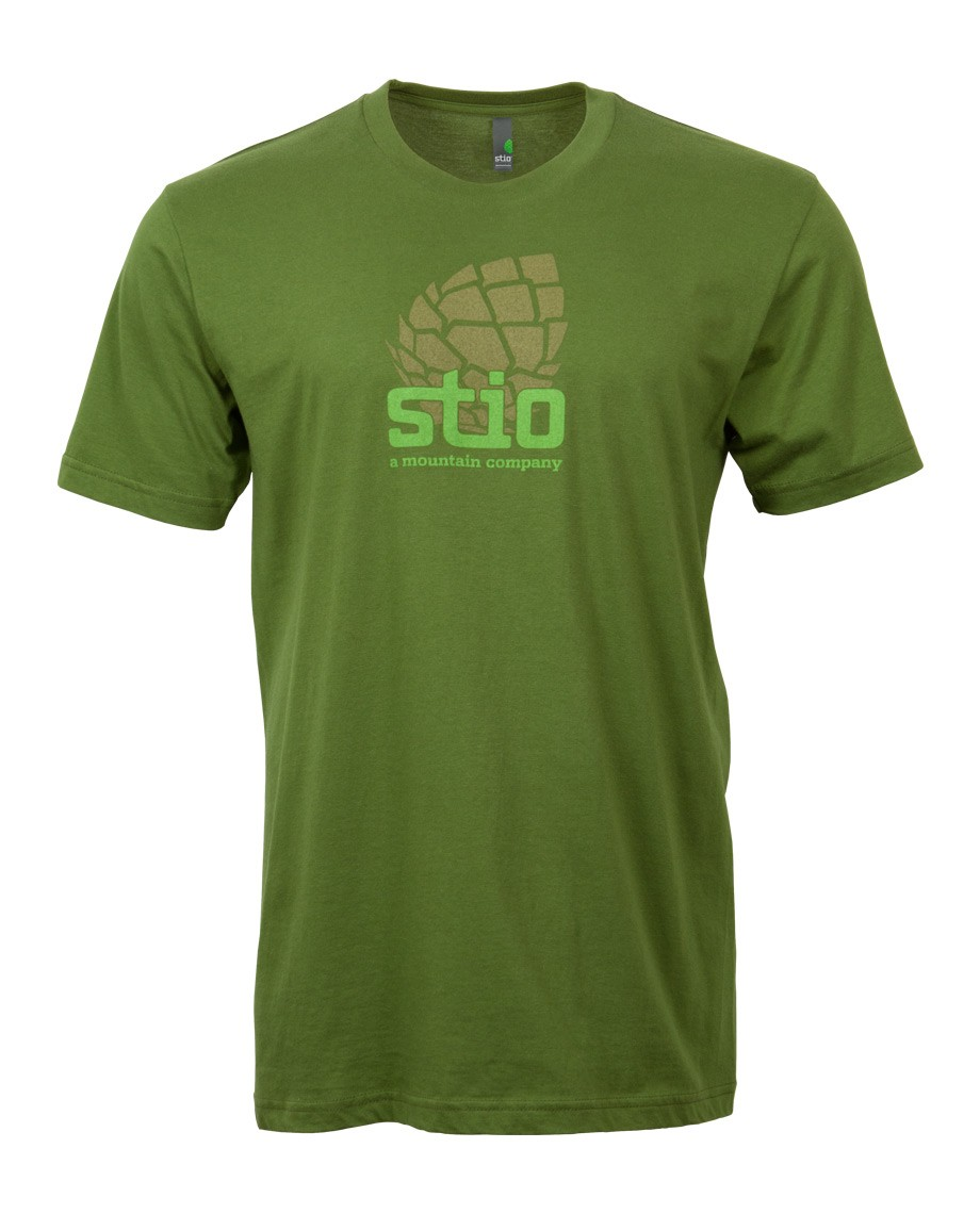 The Stio Pinecone gets the sideways treatment in this classic fine jersey tee. - $15.00
