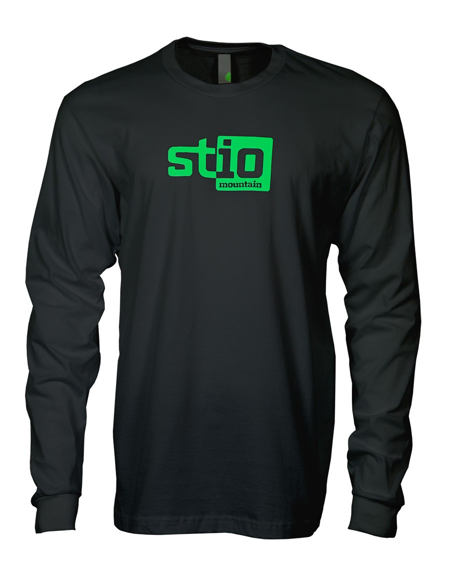 A modern take on the Stio logo placed on a comfy long sleeve organic tee._ - $17.50