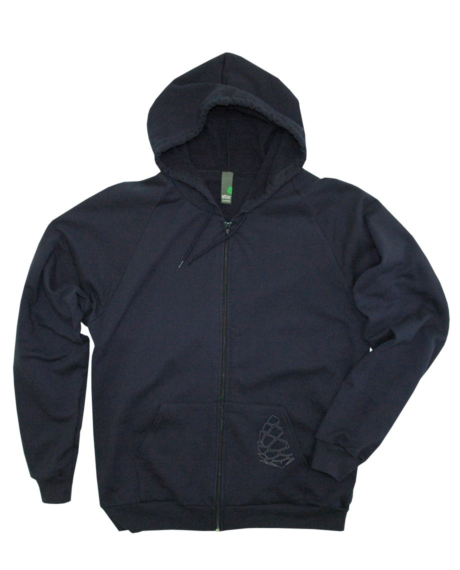 If you have ever wondered where to go in Jackson, this hip cotton fleece zip-up hoody has all the secret spots!_ - $24.50