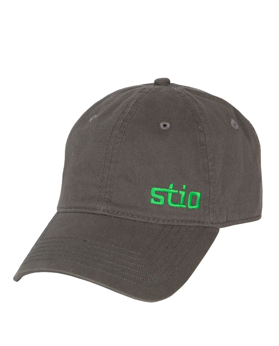 This washed 100% cotton twill cap has classic embroidered Stio and Pinecone logos. - $25.00