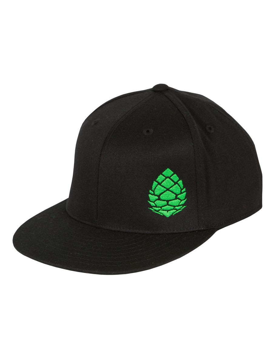 Skateboard Our authentic Flexfit flat brim features a bold logo statement with Pinecone embroidery at front and Stio at back. 83% acrylic 15% wool 2% spandex blend and a structured high profile with poly weave spandex headband for the perfect fit. - $29.75