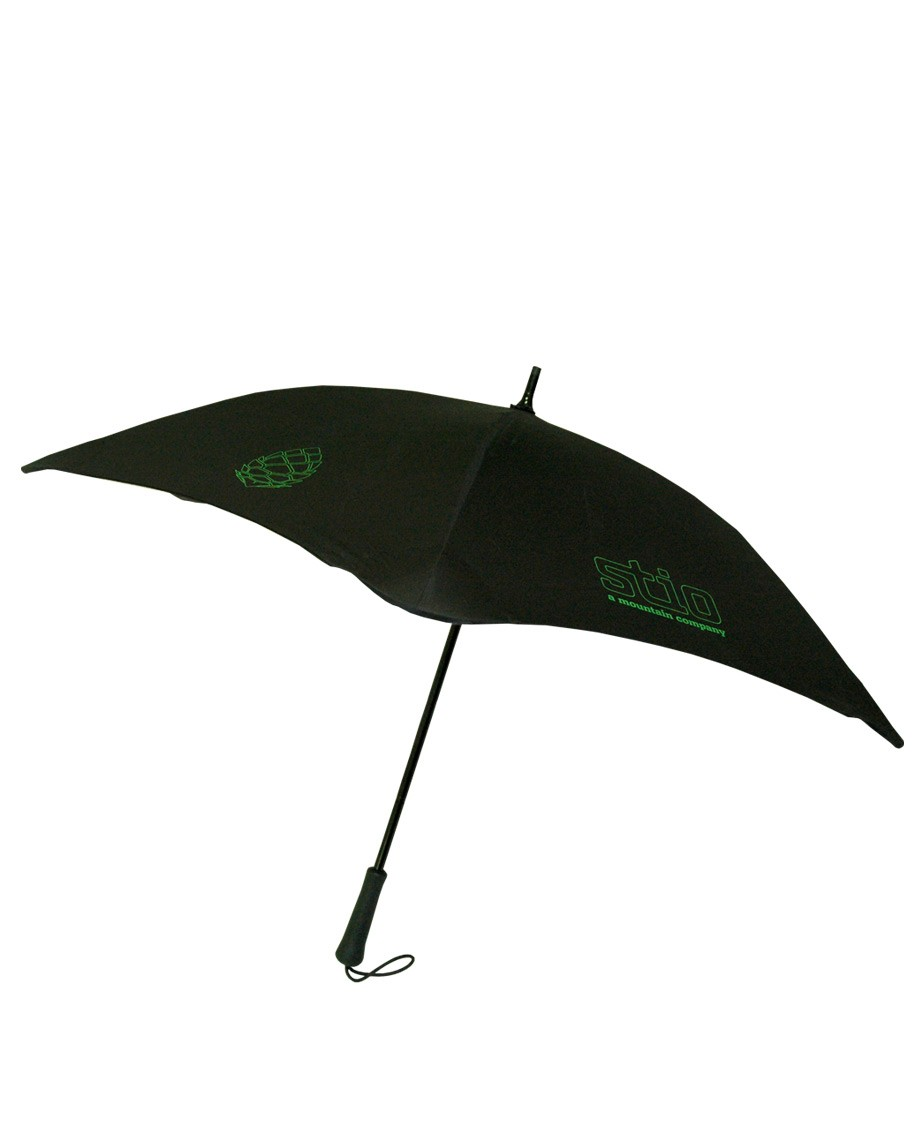 This lightweight umbrella is the perfect canopy on a rainy day with a fun Stio and Pinecone pop. - $65.00