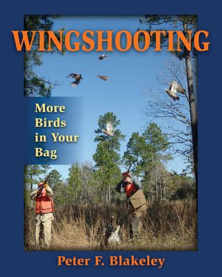 Hunting Simplify the way you hunt with this Wingshooting, More Birds in Your Bag book by shooting legend Peter Blakeley. In this book youll learn about forward allowance, or lead, which is all about creating accurate sight pictures of birds. Wingshooting explores the three variables that determine each sight picture: the flight line of the bird, its speed and distance. This will aid you in deciphering the correct lead for each bird. Its the perfect guide for hunting quail, dove, pheasant, duck and geese. 171 pages. Hardcover. Type: Waterfowl & Upland Books. - $26.95