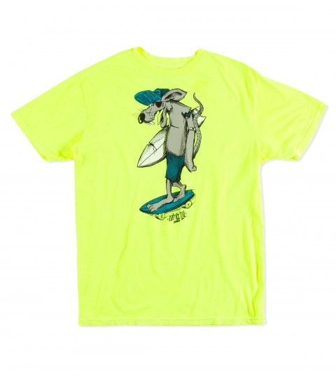 Surf O'Neill Surf Rat Tee.  100% Cotton.  Screenprint. - $22.00