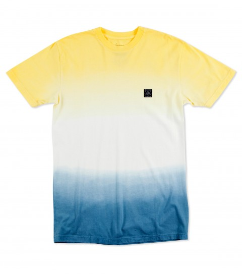 Surf O'Neill Victory Tee.  100% Ringspun cotton.  30 singles modern fit dipdyed tee with woven label. - $17.99