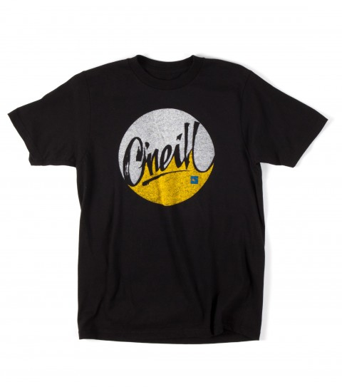 Surf O'Neill Boys Pipes Tee.  100% Cotton.  20 singles classic fit tee with softhand screenprint. - $10.99