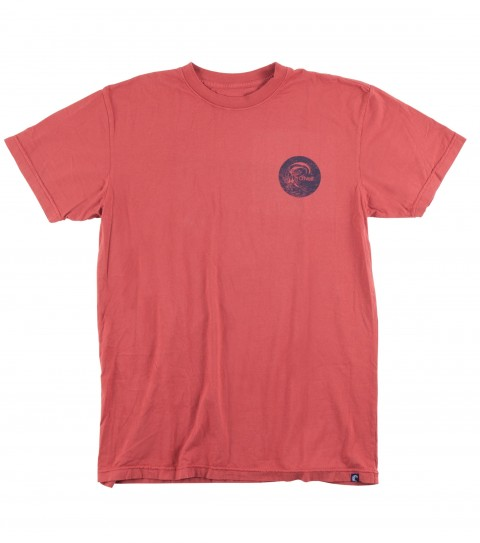 Surf Jack O'Neill Outrigger Tee.  100% Ringspun 30 singles cotton tee. Garment washed with soft hand screenprint. - $14.99