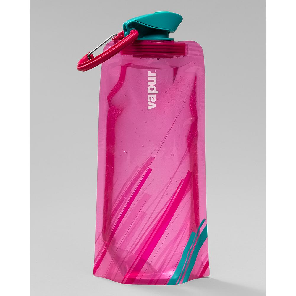 Skateboard Vapur Element .7L Water Bottle - Designed to meet the performance needs of outdoor enthusiasts everywhere, the Vapur Element's patented flexible design is lighter and easier to hold than rigid bottles - and folds flat when empty for easy transport and storage. - $11.95