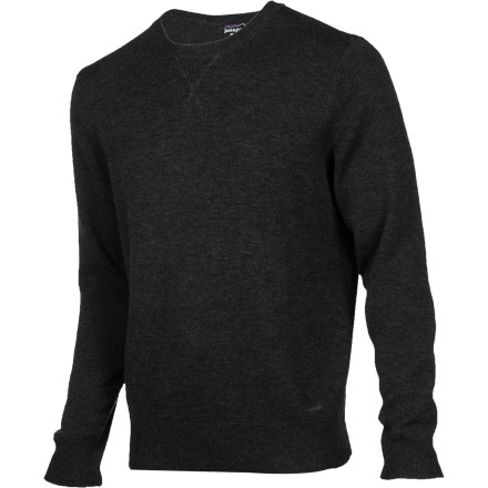 When warmth and comfort are at the top of your priority list, pull on the Patagonia Men's Wool Cask Crew Sweater. The durable 9-gauge wool knit has a touch of cashmere for enhanced next-to-skin comfort, and the rib-knit cuffs and hem provide a styled fit. - $104.30