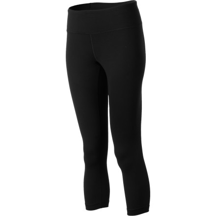 Fitness Top-notch performance construction in the ideal length make the Under Armour Women's Perfect Capri Tights a surefire favorite. Its light, soft moisture-controlling fabric stretches with your body and dries in a flash for enduring dry, cool comfort. For added mobility it features an antimicrobial gusset, and its wide comfort waistband at the hips seals the deal. - $54.95