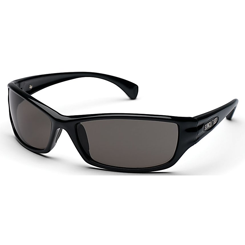 Ski Designed with a mix of style, functionality, fit, features and durability the SunCloud Hook Polarized Sunglasses are a must have for your sunglass collection. The SunCloud Hook comes with a medium fit and will offer you 100 percent UV protection from the sun's harmful UV rays. Hook yourself onto these wrap style sunglasses.  8 Base Lens Curvature,  Grilamid Frame Material,  Custom Metal Logo Plaques,  Microfiber Cleaning/Storage Bag,  Medium Fit,  100% UV Protection,  Lifetime Warranty,  Polarized Injection Polycarbonate Lenses,  Best Use: Multisport, Lens Material: Polycarbonate, Frame Material: Grilamid, Polarized: Yes, Photochromatic: No, Interchangable Lens: No, Additional Lenses: No, Face Size: Medium, Nose Pads: Yes, Warranty: Lifetime, Lens Type: Polarized, Model Year: 2015, Product ID: 270736, Frame Shape: Rectangle / Wrap, Model Number: S-HKPPGYBLK, GTIN: 0715757271022 - $49.99