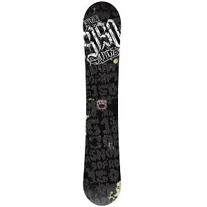 Snowboard 5150 Vice Snowboard - Don Johnsons snowboard of choice is the 5150 Vice. The Vice starts its journey with all snowboarders of all styles. The Vice features RadRock Rocker which is flat between your feet and has 3mm of rocker in the tip and tail for smooth landings and catch free fun. Tru-Flex Core is the backbone of the Vice giving ultra pop. The Vice is an all-mountain machine! Directional shape and Biaxial Fiberglass construction provide a fast, smooth, and snappy ride for shredders of all abilities. . Actual Turn Radius @ Specified Length: 8m(155cm), Base Name: Die-Cut Base, Core Name: Tru-Flex Core, Recommended Use: All-Mountain, Waist Width: 250mm(155cm), Stance Width: 20-22in, Stance Setback: .75 Back, Special Features: Tru-Flex Core, Rocker Profile: Rocker, Shape: Directional, Flex: Medium, Pipe Oriented: No, Board Width: Regular, Rocker Type: Rad Rock, Core Material: Wood, Construction Type: Cap Construction, Hole Pattern: Standard 4 Hole, Magnatraction: No, Base Material: Extruded P-tex, Warranty: One Year, Skill Range: Beginner - Intermediate, Model Year: 2012, Product ID: 286278, Shipping Restriction: This item is not available for shipment outside of the United States., Gender: Mens, Skill Level: Beginner - $129.89