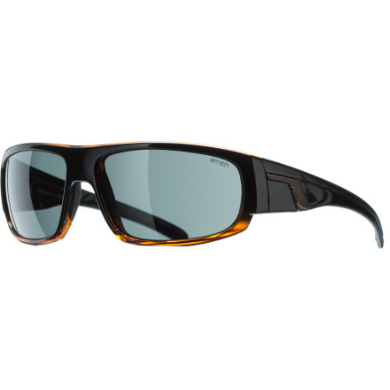 Camp and Hike The Smith Polarized Terrace Sunglasses helps shield your eyes from the sun while pulling wheelies on your mountain bike, kicking back on the snow beach and watching gapers crash, or chilling with your friends on a sunny afternoon. - $77.32