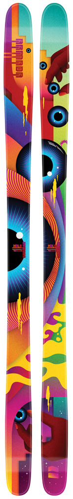 Ski Utilizing the five dimensional EST Park Rocker, the Halo has a slight tip and tail rocker that ensures no hang-ups. The Halo is quick edge-to-edge and playful. It is perfect for beginners or experts who prefer a softer flexing and more forgiving park ski. Patented.Key Features of the Armada Halo Skis: AR50 Sidewall Hybrid Double Zone Core EST Park Rocker S7 Base CK Stringer Laminate Matrix 2.5 Impact Edge Sidecut: 95-82-101 @ 176 Radius: 14m @ 176 - $419.95