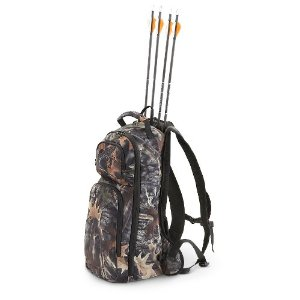 Hunting Guide Gear Camo Quiver Pack   $30