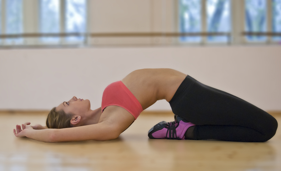 Fitness stretch and breath