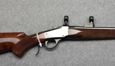 Hunting Browning 1885 Low Wall .22 Hornet