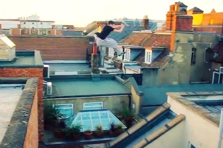 Parkour thrillon