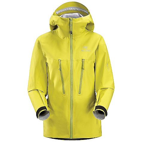 On Sale. Free Shipping. Arcteryx Women's Alpha LT Jacket DECENT FEATURES of the Arcteryx Women's Alpha LT Jacket 3D anatomical patterning and fit for unrestricted movement Water Tight Vislon centre front zip Crossover chest pockets with laminated Water Tight zippers Internal laminated pocket with zipper Removable HemLock inserts keep jacket in position under harness Laminated Water Tight pit zips We are not able to ship Arcteryx products outside the US because of that other thing. We are not able to ship Arcteryx products outside the US because of that other thing. We are not able to ship Arcteryx products outside the US because of that other thing. The SPECS Weight: (M): 11.7 oz / 332 g Fit: XPD fit with e3D, hip length Fabric: 320N Gore-Tex Pro Shell 3L This product can only be shipped within the United States. Please don't hate us. - $369.99