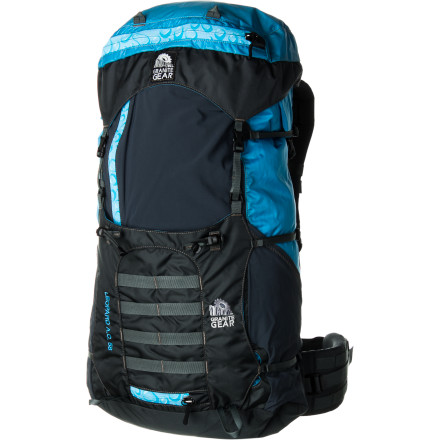 Camp and Hike The Granite Gear Leopard V.C. 58 Backpack combines the lightweight construction and design of an ultralight pack with the versatility and features you need for alpine climbing. While the Leopard V.C. 58 pack might weigh a few more ounces than ultalight packs like the Osprey Exos 58, the extra features make it a great fit for alpine climbs and hikes where you might want to bring crampons or your ice axe. The Lepoard's Vapor Current suspension system maximizes airflow to help keep you cool when you're headed into warmer climates and summer backpacking trips, and it's lightweight dual-density foam boots comfort while keeping weight low. - $249.95