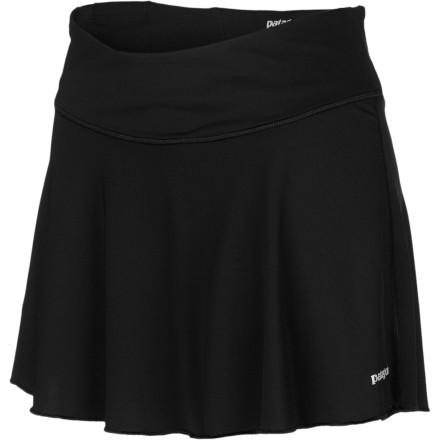 Fitness Put a little kick in your step and zip in your kick with the Patagonia Women's All Weather Skirt. Running never felt as free and easy as it does in this skirt/short combo; technical fabrics work to keep you cool and comfortable while the action-inspired design gets you ready to move. - $49.00