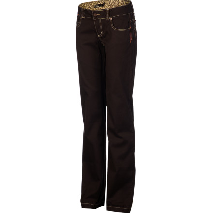 The prAna Women's Bedford Canyon Pant knows how to keep you comfortable on the go, thanks to its organic cotton, movement-friendly, four-way-stretch fabric. - $74.95