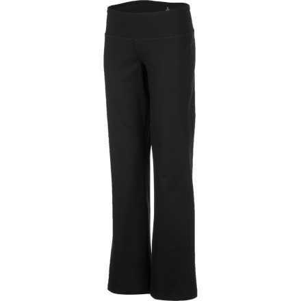 Fitness The prAna Women's Vivi Pant features a clean, flattering waistband, relaxed fit, and classic rise that make you look good whether you're practicing yoga or running errands. - $83.95