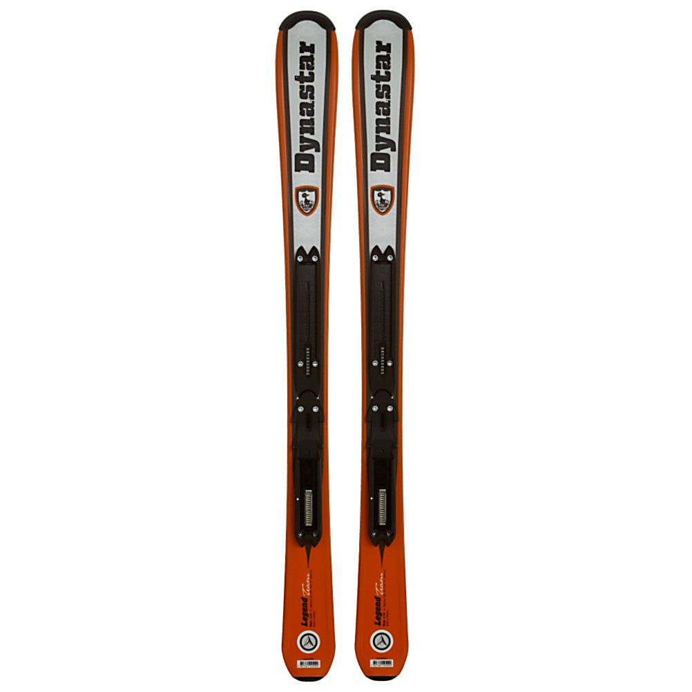 Ski Dynastar Team Legend Kids Skis with Xpress Kid Bindings - The Dynastar Team Legend Ski gives aspiring youngster confidence with a easy to ski, ski. Composite core that is wrapped in fiberglass flexes easy for new skiers. Traditional camber allows the ski to be powerful in turns and gives you the ability to ride in various conditions. The Xpress kid bindings that comes included( but not mounted) is lightweight integrated binding system, this allows passing the torch down younger kids a breeze.. The Team Legend ensures your grom develops his skills and enjoys his day on the hill. . Warranty: One Year, Construction Type: Cap, Core Material: Composite, Base Material: Extruded, Titanium: No, GTIN: 3607681105085, Model Number: DR104WP 100, Shipping Restriction: This item is not available for shipment outside of the United States., Product ID: 307667, Model Year: 2012, Skill Range: Beginner - Advanced Intermediate, Ski Gear Intended Use: All Mountain, Waist Width: 67mm, Turn Radius: - $129.93