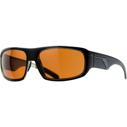 Camp and Hike The Smith Tactic Sunglasses feature polarized lenses to provide glare-killing light filtration in all kinds of environments. Packed into this sleek metal frame the carbonic TLT lens material provide impact protection for sports, and the anti-fog treatment makes it a valuable offering for those regularly push their limits. Life on the water or in the mountains means that you'll want a set of shades that looks a bit more distinguished than typical sports shapes, and the Tactic's Evolve frame fits the bill. - $77.32