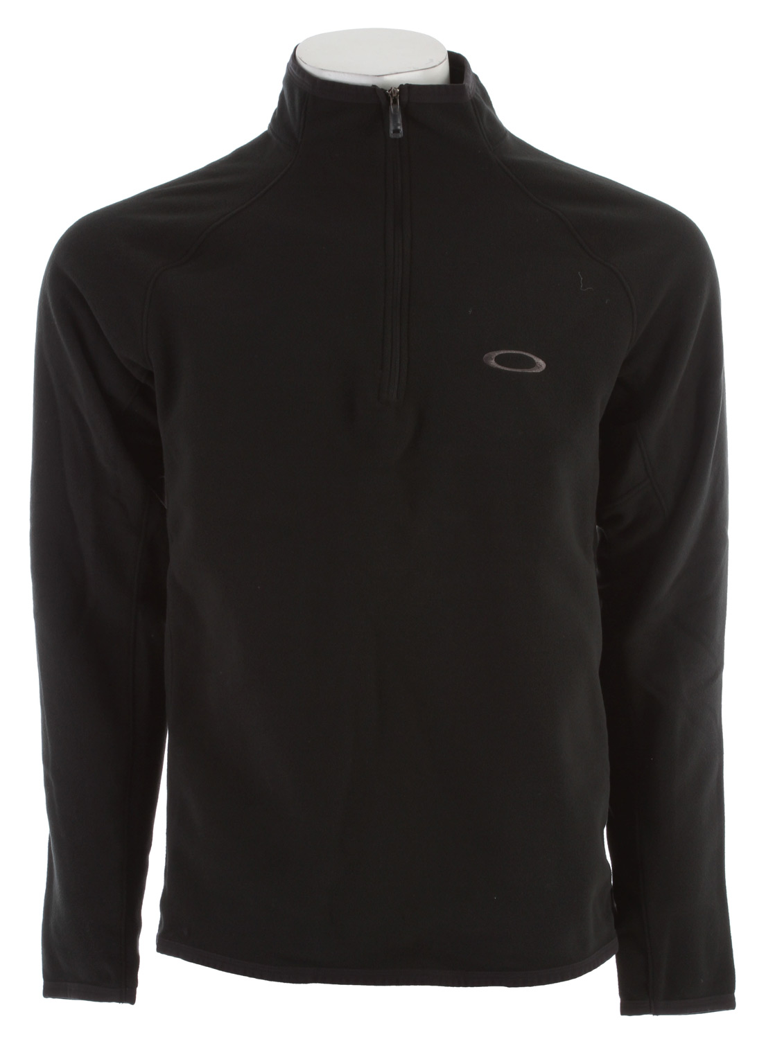 Warmth without the weight the Shelf Life is a half zip fleece with an 80/20 DWR finishKey Features of the Oakley Shelf Life Fleece: 80/20 DWR Stretch Moisture Management Regular fit 100% Polyester - $38.95