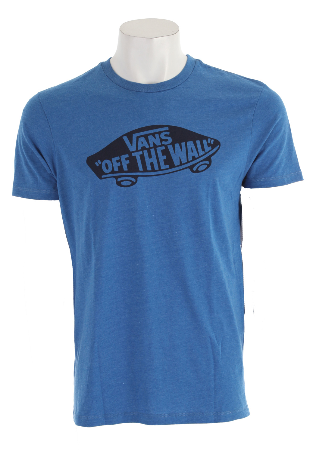 Skateboard Key Features of The Vans OTW T-Shirt: Regular Fit Crew Neck Short Sleeve 100% Cotton Custom Fit 30/1 combed ringspun cotton crew neck tee shirt 50% Cotton 50% Polyester for heathered colorways Front chest screen print Clip label on back hem - $11.95