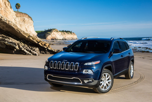 Auto and Cycle 2014 Jeep Cherokee - Jeep released official shots of the SUV today, showcasing a style that's a shocking departure from the square-jawed model of the '80s.