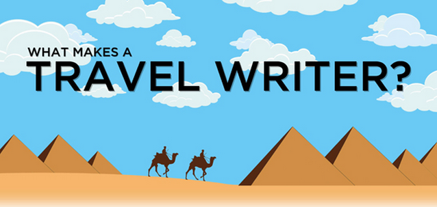 Entertainment Ever wanted to see what makes a travel writer? Check out this infographic! 