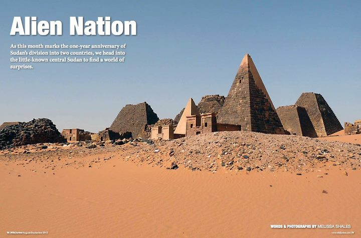 Entertainment Sudan's buried treasures: featured in the latest WildJunket Magazine issue, available on Zinio, Magzter and our new app: http://www.wildjunket.com/magazine/augustseptember-2012/