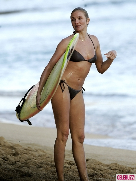 Surf Cameron-Diaz-Surfing