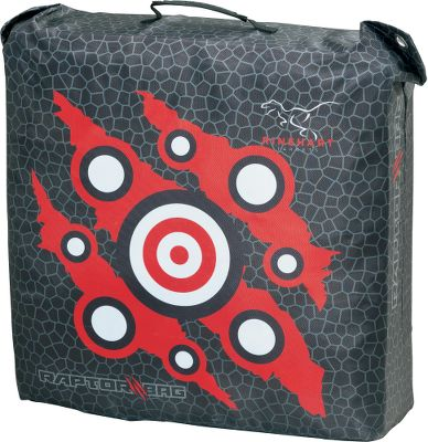 Hunting The Rinehart Rhino Bag Target features Smart Core technology that provides long-term use and easy arrow or bolt removal. Improved printed graphics. For use with field points only. 22L x 12W x 22H. Wt: 25 lbs. Color: Black. Type: Bag Targets. - $59.99
