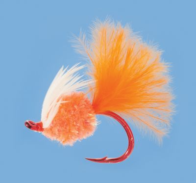 Fishing Foxs Fertilizer Fly is a unique twist on a traditional egg pattern when youre targeting steelhead and salmon. Feather hackle and tail add movement and increase its profile, creating more fish-attracting action. Per each.Sizes: 1, 8. - $1.48