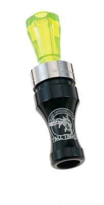 Hunting The hand-tuned Buck Gardner Tall Timber Duck Call ensures a full tone range, from soft feed calls when birds are close to ringing hail calls when you need to get their attention. Comes with a solid .065 stainless steel band. Acrylic barrel with polycarbonate insert. Colors: Black/Green, Black/Blue, Black, Red Pearl/Clear. Color: Timber. Type: Single Reed. - $15.88