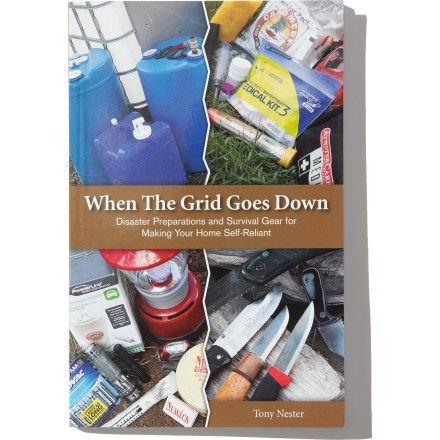 When the Grid Goes Down: Disaster Preparations and Survival Gear for Making Your Home Self-Reliant, describes how to prepare yourself and your home for a short- or long-term emergency. - $5.93