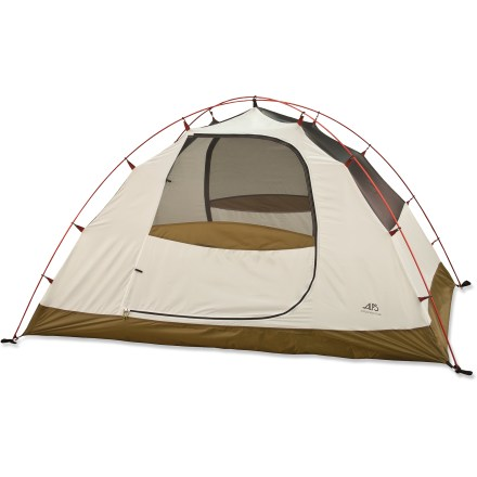 Camp and Hike The freestanding ALPS Mountaineering Edge 1 tent is ideal for 3-seasons of solo camping and backpacking. - $107.73