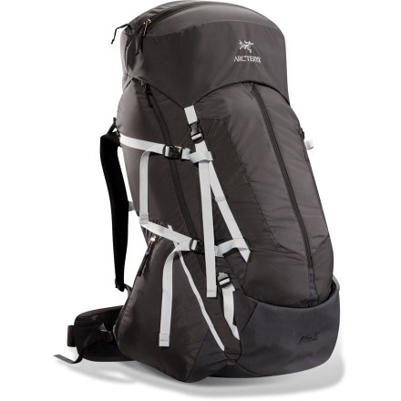 Camp and Hike Bring the Arc'teryx Altra 85 pack on your next extended-range sojourn. This cavernous pack combines an advanced suspension system with a sturdy frame and light materials. - $499.00