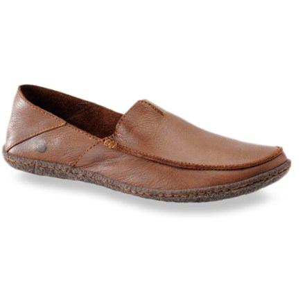 The Born Stewie Moc Slip-On shoes feature a collapsible back so you can wear them as a shoe or a slide. - $37.73