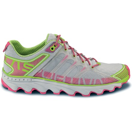 Fitness The women's La Sportiva Helios trail-running shoes offer you lightweight, cushioned performance that rides close to the ground without compromising cushioning. - $120.00